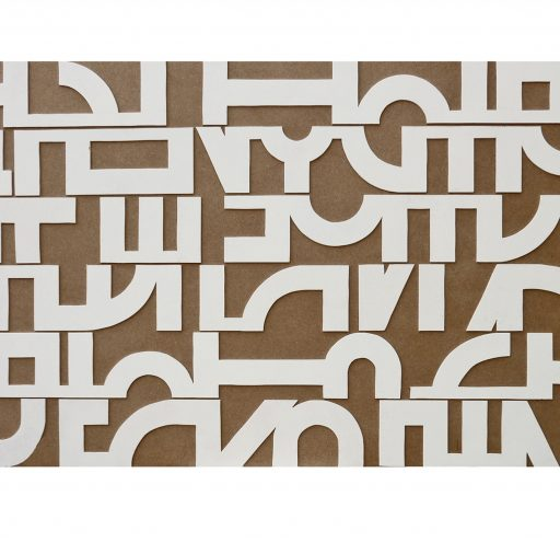 bird's requiem   2015  Holz   74 x 146 x 2,5cm