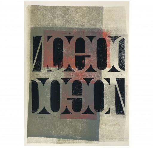 NOGOD DOGON -2013- LINOLDRUCK 50X60CM