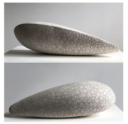 la forma   -2017 -   Keramik      53x20x15cm