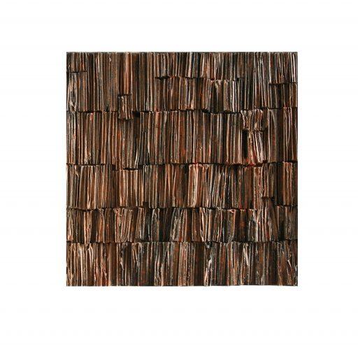 structures II   - 2018 -  Papier/Holz  45x45x3cm