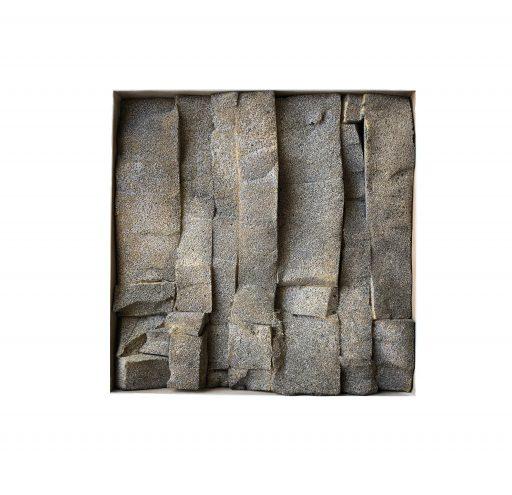 structures VIII   - 2018 -   Schaumstoff/Holz   45x45x3cm