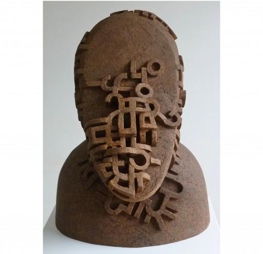 head III  - 2015 - Keramik gefärbt 48x37x39cm