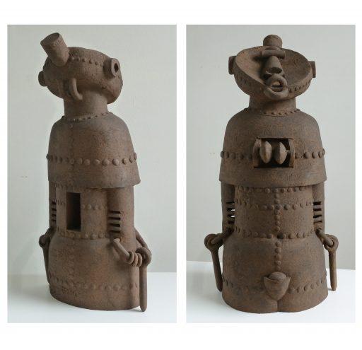 pour-marianne, disparue trop tôt  - 2016 - Keramik, gefärbt   64x32x24cm